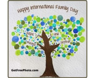 International Family Day-Happy World Family Day 2020