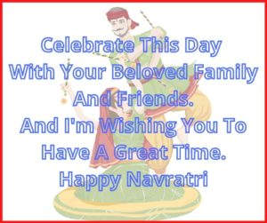 Wish You Happy Navratri Message With Image